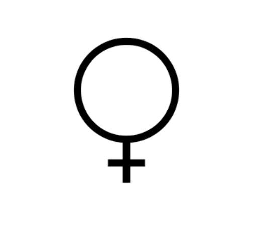 kobieta symbol