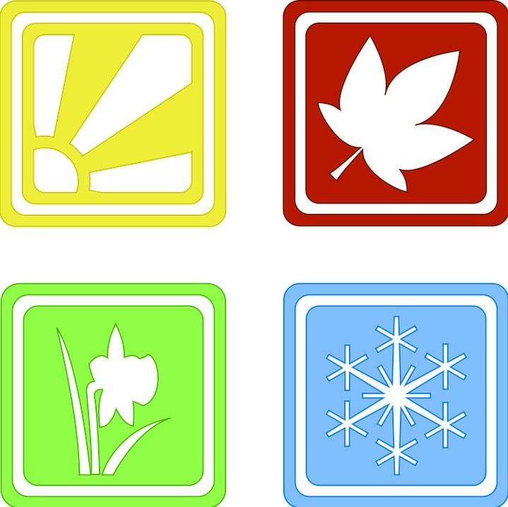 pory roku symbole
