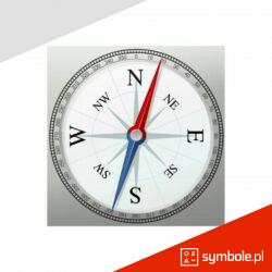 oznaczenia kompasu