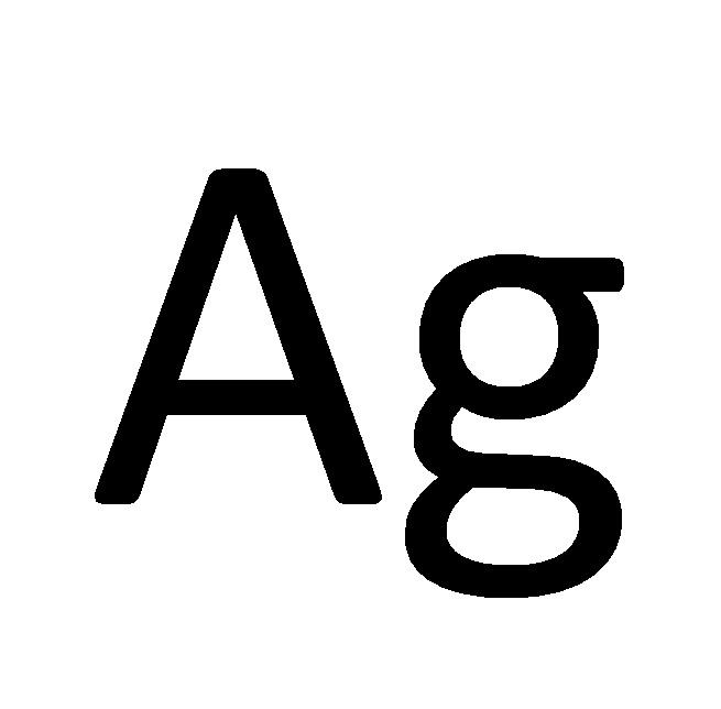 Symbol srebra