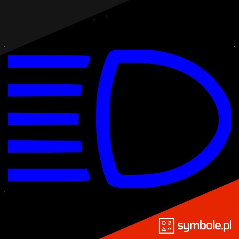 światła drogowe symbol