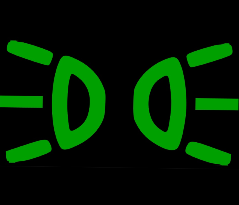światła pozycyjne symbol