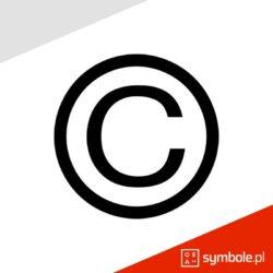 symbol copyright