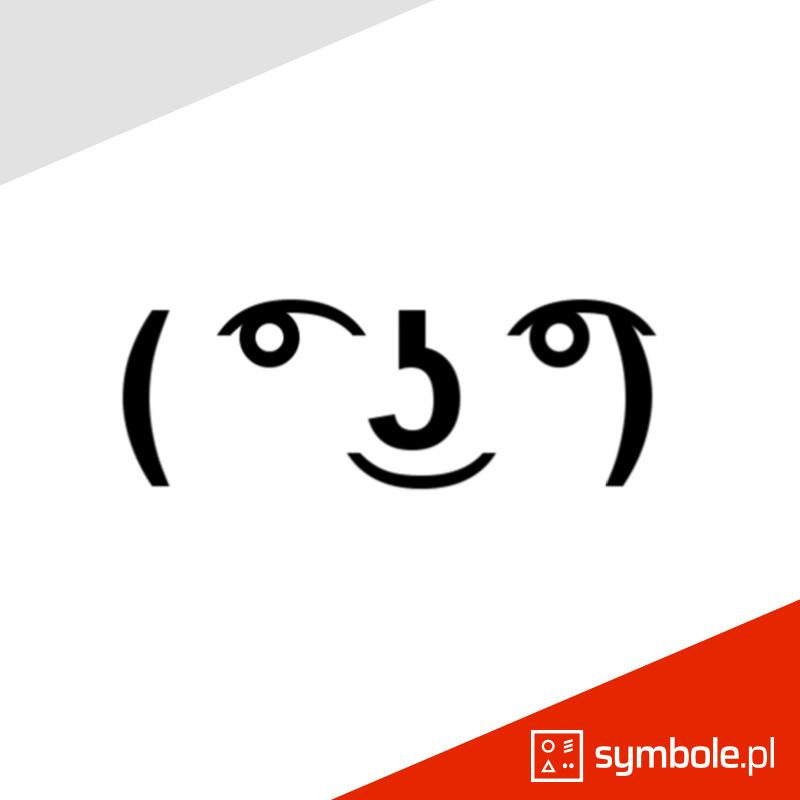symbol lenny face