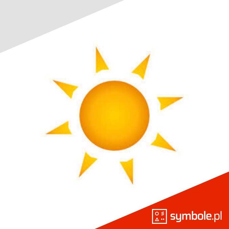 symbol słońca
