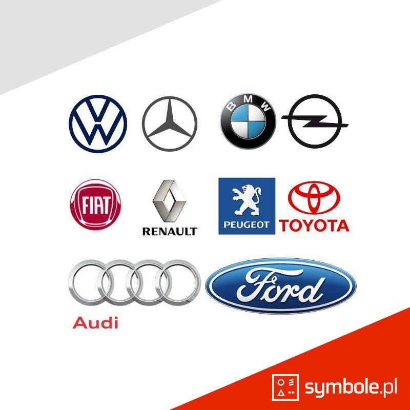 symbole marek samochodowych