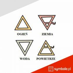 symbole żywiołów