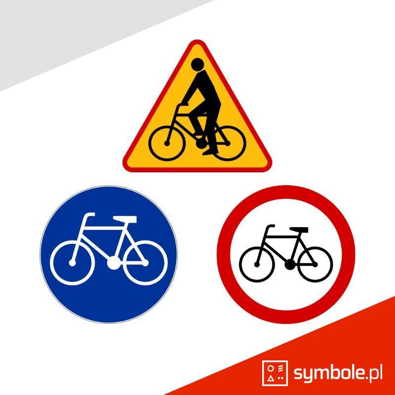 znaki rowerowe