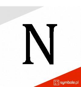 Symbol-azotu