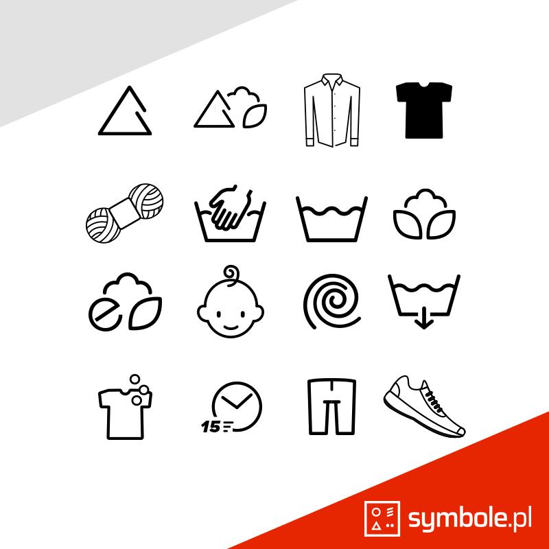 symbole na pralce